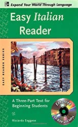 Easy Italian Reader w/CD-ROM: A Three-Part Text for Beginning Students