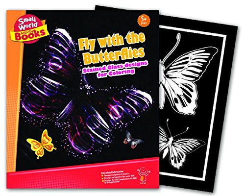 Small World Activity Books Fly with the Butterflies Science Kit - 1
