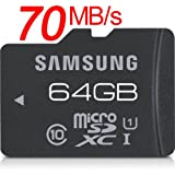 TX Samsung microSDXC 64GB Pro 70MB/s UHS-I Class10 sAi