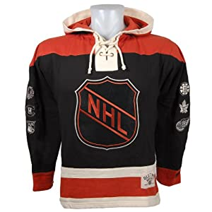 Buy NHL Original 6 Rafters Heavyweight Lace Fleece Hoodie by Old Time