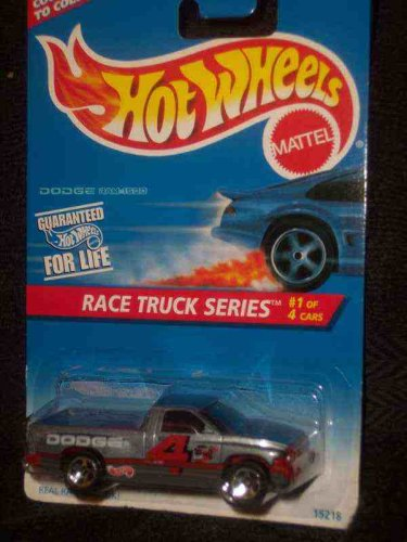 Race Truck Series #1 Dodge Ram 1500 Gray 5-Spoke China #380 - 1