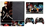 Bleach 273 Skin Sticker Cover Decal Protector for XBOX ONE Console Kinect and 2 controller skins by Cool Colour [並行輸入品]