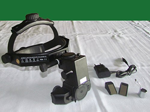 Kashsurg Wireless Led Binocular Indirect Ophthalmoscope Complete In Case Kl-19.020