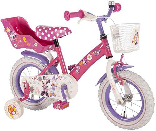 12-Zoll-12-Kinderfahrrad-Fahrrad-Mdchenfahrrad-Disney-Minnie-Mouse-Maus-Bike-VOLARE