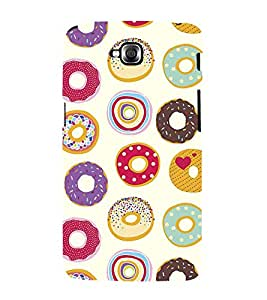 Colourful doughnuts Wallpaper 3D Hard Polycarbonate Designer Back Case Cover for LG G Pro Lite :: LG Pro Lite D680 D682TR :: LG G Pro Lite Dual :: LG Pro Lite Dual D686