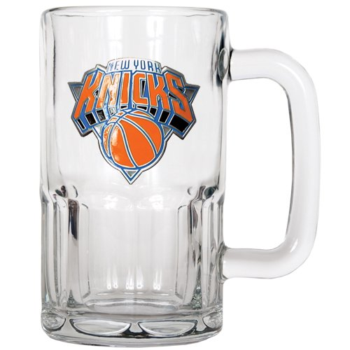 Nba New York Knicks 20-Ounce Root Beer Style Mug - Primary Logo front-586633