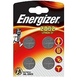 Energizer 637762 - CR2032 3V Pack de pilas de litio