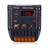 Sun YOBA LCD 20A 12V/24V Auto Switch PWM Solar Panel Charge Controller Off Grid