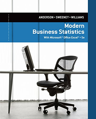 Modern Business Statistics With Microsoft Excel front-861659