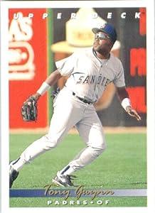 1993 Upper Deck #165 Tony Gwynn - San Diego Padres (Baseball Cards)