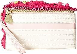 Betsey Johnson Women\'s Cake Wristlet Fuchsia Clutch
