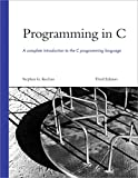 img - for Programming in C (3rd Edition) book / textbook / text book
