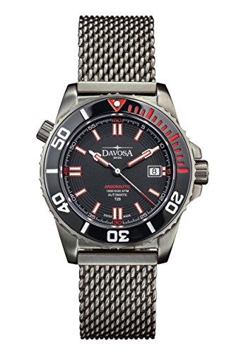 Davosa 16152160 Montre bracelet Hommes, Acier Inoxydable, couleur: Gris
