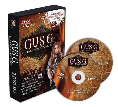 Gus G. Lead - Rythm Guitar Techniques [DVD] [Edizione: Regno Unito]