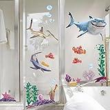 Nemo Hai Fisch Wandtattoo Wall sticker Kinderzimmer Geschenk