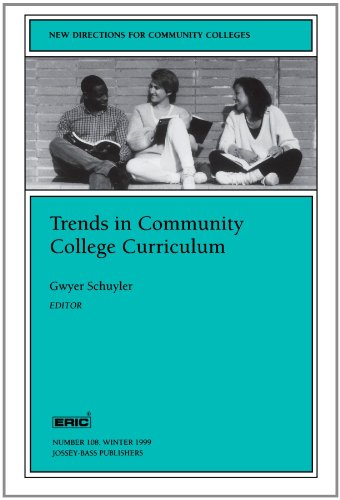 Trends in Community College Curriculum: New Directions for Community Colleges (J-B CC Single Issue Community Colleges)