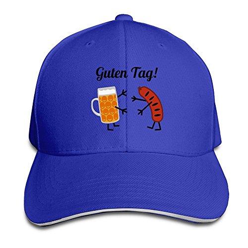 runy-custom-quten-tag-adjustable-sanwich-hunting-peak-hat-cap-royalblue