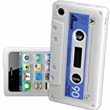 IPHONE 3G 3GS WHITE CASSETTE RETRO TAPE GEL COVER SILICONE CASE SKIN iTAPE From Gadget Zoo