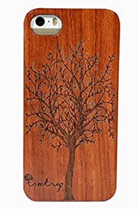 Treetry Wooden Case/Wooden Cover For Apple iPhone 5S