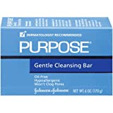 Purpose Gentle Cleansing Bar, 6-Ounce Bars (Pack of 2)