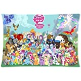 Cartoon My Little Pony Custom Rectangle Pillow Cases 20x30 (one side) Friendship is Magic Children/kids Favorite