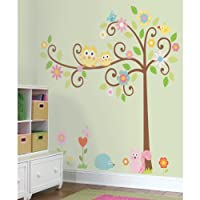 RoomMates RMK1439SLM Scroll Tree Peel & Stick Wall Decal MegaPack from RoomMates