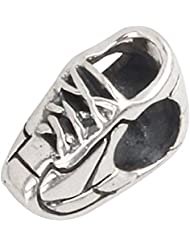 Sneaker Charm 925 Sterling Silver Sport Bead For European Style Bracelet Jewelry