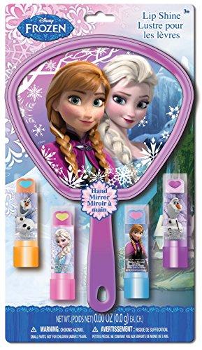 Frozen 3D Pop Mirror and Lip Sticks, 5 Count - 1