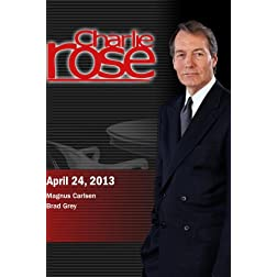 Charlie Rose - Magnus Carlsen; Brad Grey (April 24, 2013)