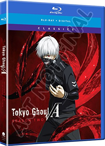 Blu-ray : Tokyo Ghoul: The Second Season - Classic (2 Pack, Subtitled, Snap Case, Slipsleeve Packaging, Digital Copy)