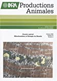 Productions animales, Tome 19, Octobre 200 : Mitochondries et biologie du muscle