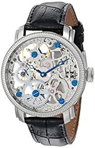 Akribos XXIV Men's AKR418SS Bravura Mechanical Skeleton Stainless Watch