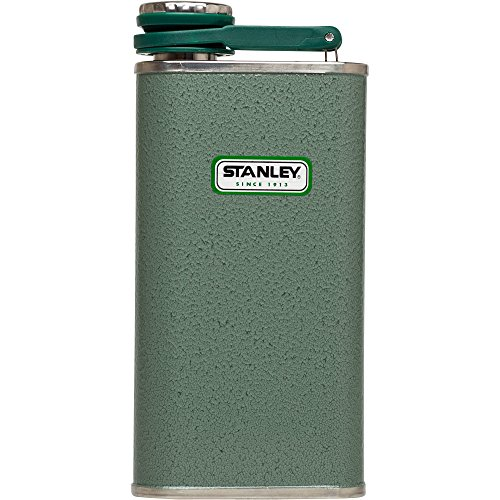 Stanley Classic Flask 8oz Hammertone Green (Stanley Cycle Flask compare prices)