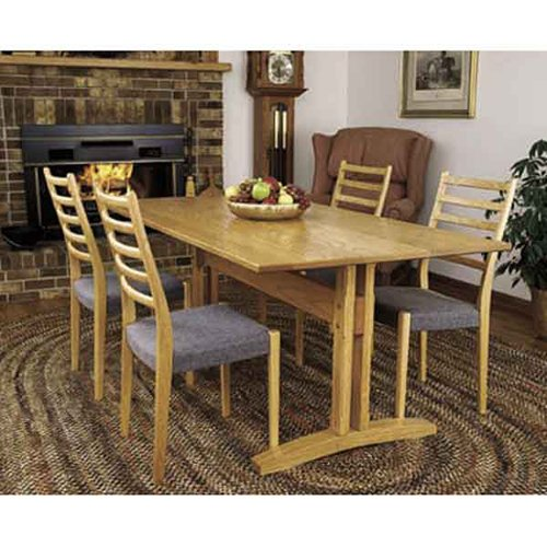 Trestle Table: Downloadable Woodworking Plan