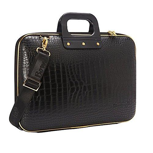 bombata-gold-cocco-briefcase-156-inch-black