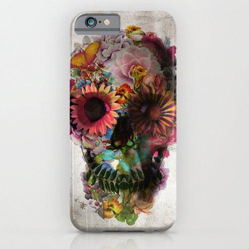 Society6(ソサエティシックス) iPhone6(4.7インチ)ケース SKULL 2