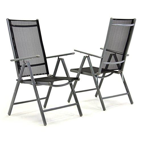 2er-Set-Klappstuhl-Aluminium-Komfortbreite-Gartenstuhl-Gartensthle-Klappsthle-Alu-schwarz
