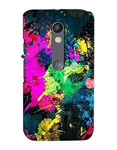 FurnishFantasy Designer Back Case Cover for Motorola Moto X Play
