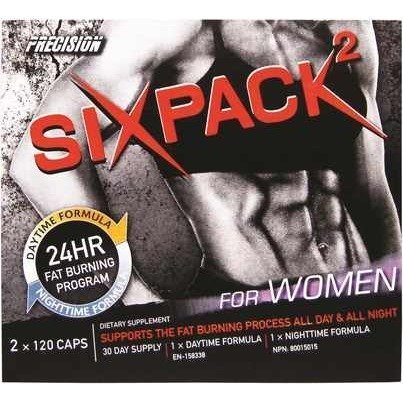 Precision - Six Pack for Women Kit 120 AM + 120 PM CAPS