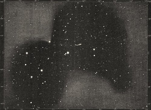 Astronomy: Double Stars Multiples: The Pleiades Visible 571 Stars; Print 1877