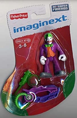 Imaginext DC Super Friends JOKER in Exclusive Holiday Christmas ...