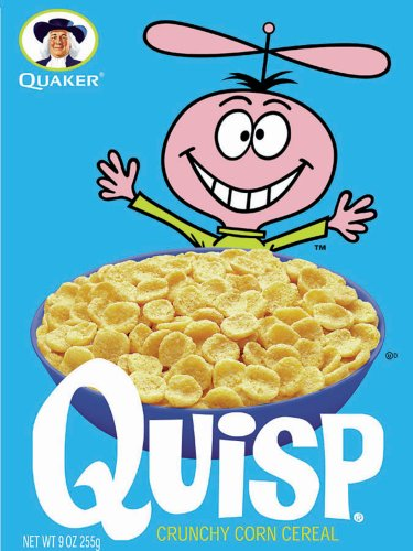 Quaker Quisp Cereal, 9-Ounce Boxes (Pack of 6)