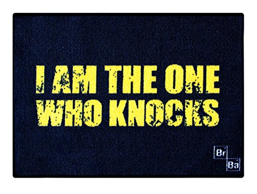 Breaking Bad Tappeto Tappetino Rug I am the one who knocks 70 x 50 cm Poptoy