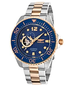 Invicta Men's 15416 Pro Diver Analog Display Japanese Automatic Two Tone Watch