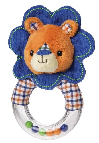 "Mary Meyer 5"" Ring Rattle, Levi Lion"