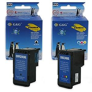 Abacus24-7 Remanufactured Canon PG 245 Ink Cartridge (Black XL, High Capacity) for PIXMA MX492, MG2420, MG2520, MG2920, MG2922, MG2924, MG6820, iP2820 Printers