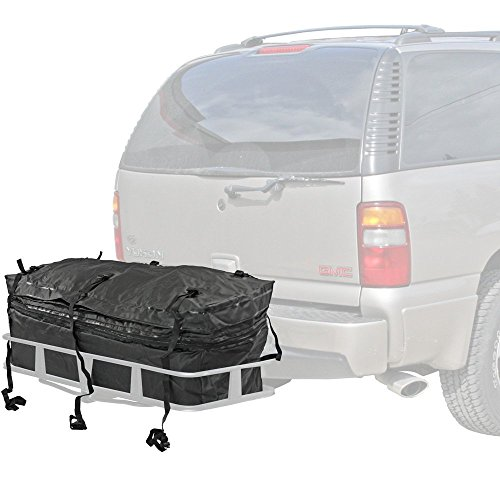 Rage Powersports CSBG-60 Hitch Cargo Carrier Rack Bag (60' Waterproof with Expandable Height) ,1 Pack (24 Hitch Cargo Carrier compare prices)