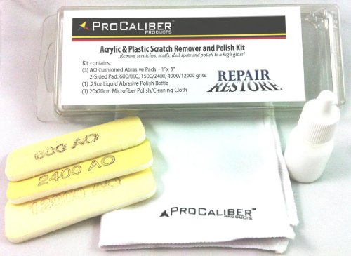 ProCaliber Scratch Remover and Polish Kit