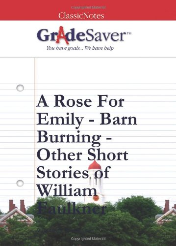 a rose for emily and other short stories study guide gradesaver a rose for emily and other short stories