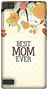 The Racoon Lean Mom Love hard plastic printed back case/cover for Blackberry Z3
